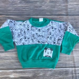 80s Vintage Mickey Mouse sweatshirt size med (5-6)